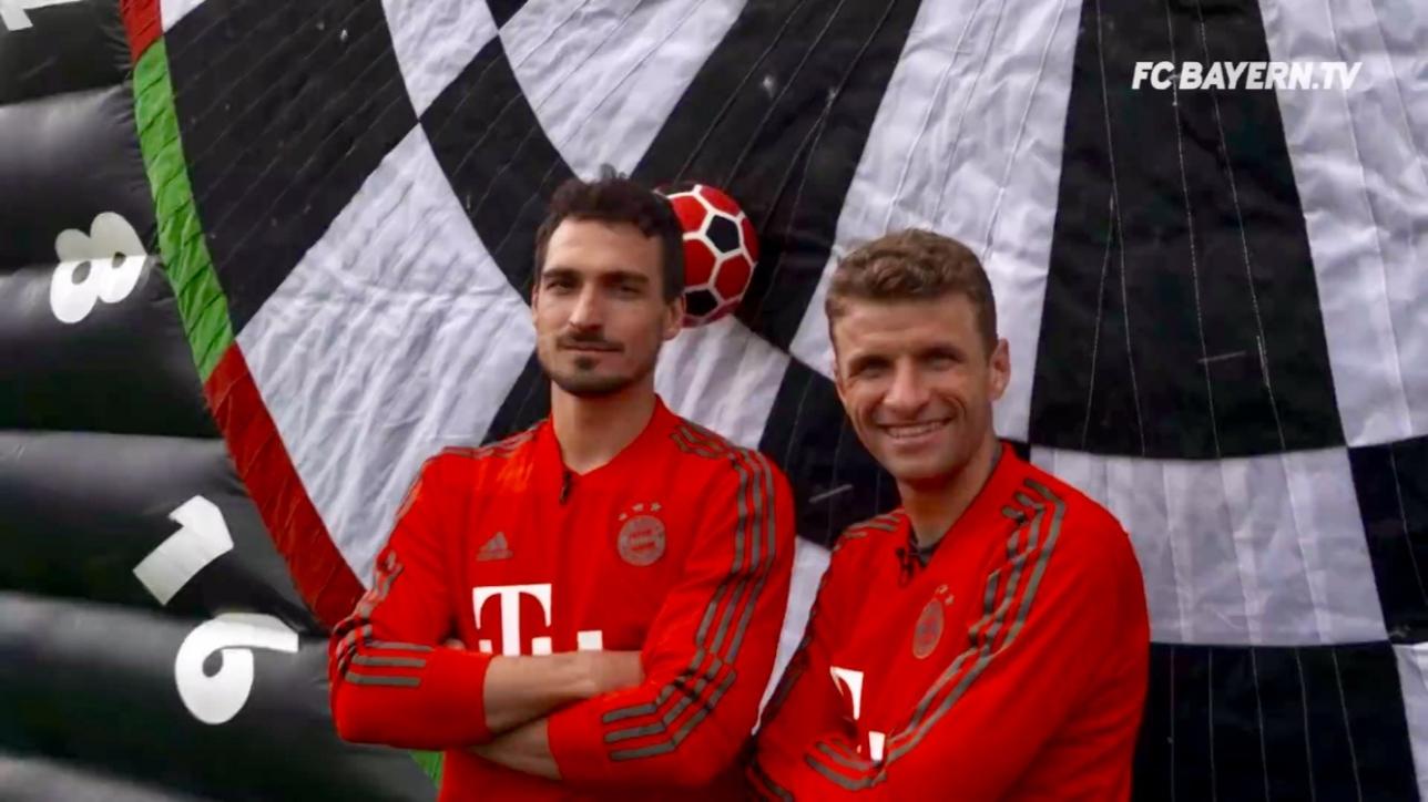 Fussball Dart beim FC Bayern München Night Sports Trendsport